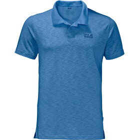 Jack Wolfskin Travel Polo Men wave blue
